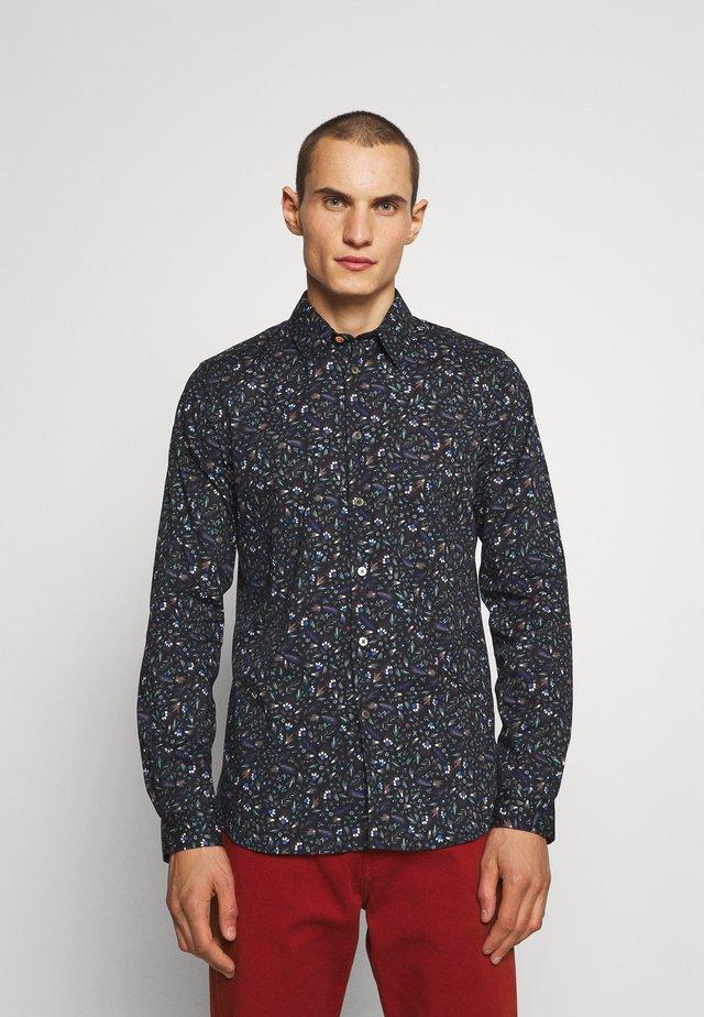 TAILORED FIT SHIRT - Shirt - black/multi-coloured