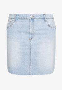 Cotton On Curve - SKIRT - Denim skirt - sky blue - 4