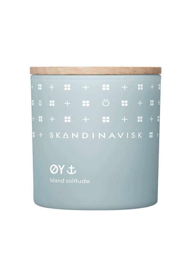 SCENTED CANDLE WITH LID - Bougie parfumée - øy