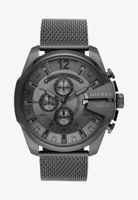 Diesel - MEGA CHIEF - Chronograph watch - gunmetal - 0