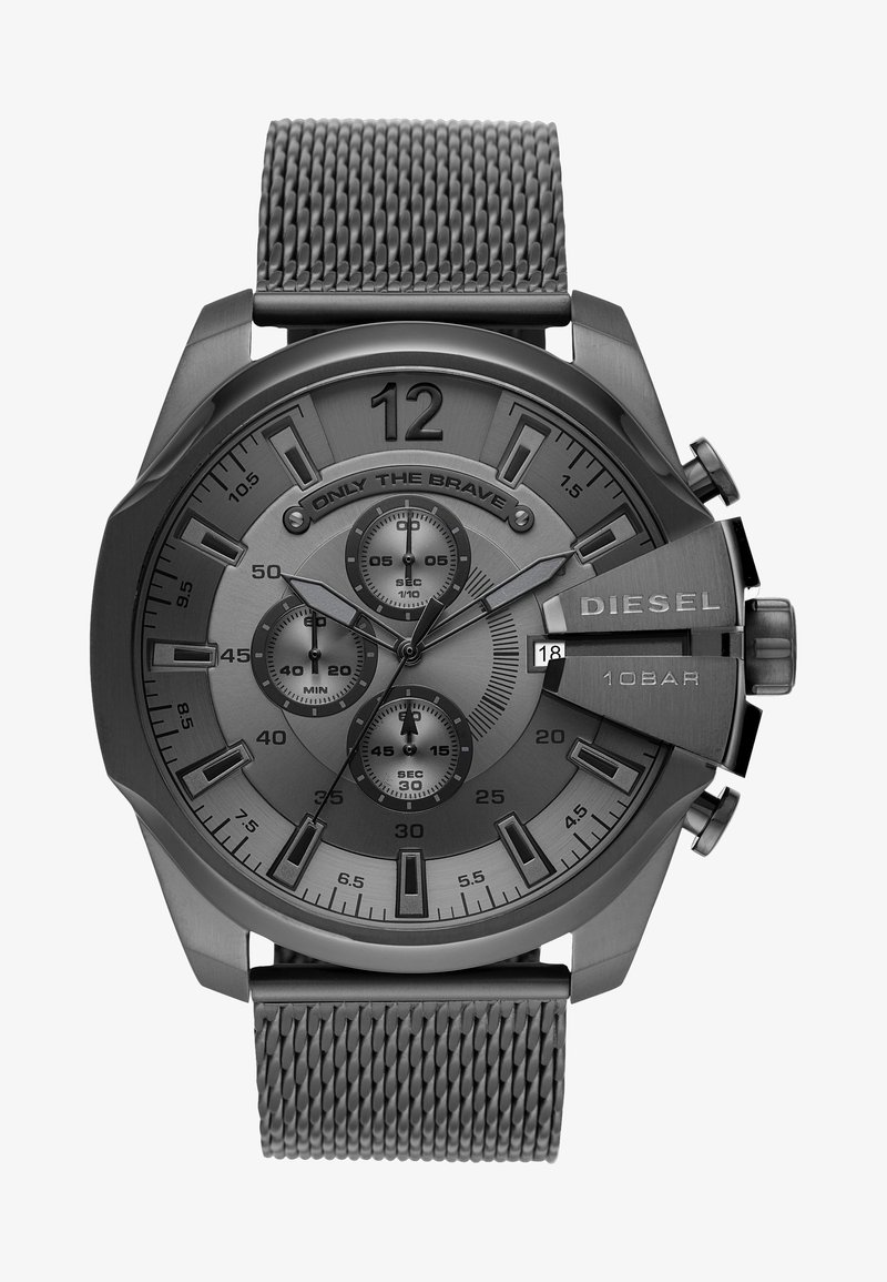 Diesel - MEGA CHIEF - Chronograph watch - gunmetal
