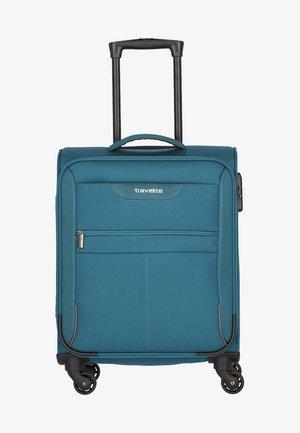 Wheeled suitcase - petrol