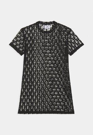 MONOGRAM TEE - Kjole - black