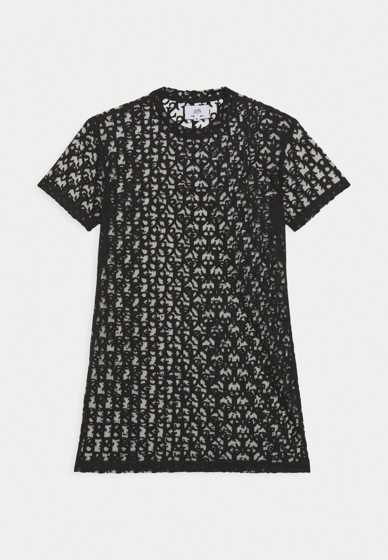 Sixth June - MONOGRAM TEE - Sukienka letnia - black