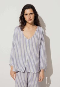 OYSHO - Pyjama top - blue - 0