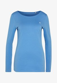 LONG SLEEVE ROUND NECK SOLID - Long sleeved top - foggy sky
