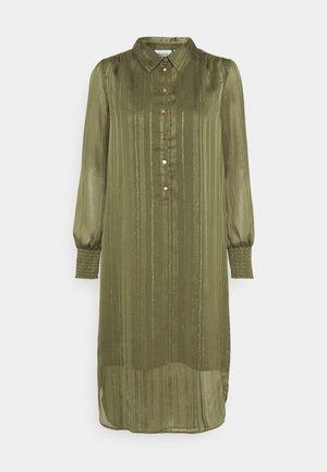 DAHLIA DRESS - Košilové šaty - army green
