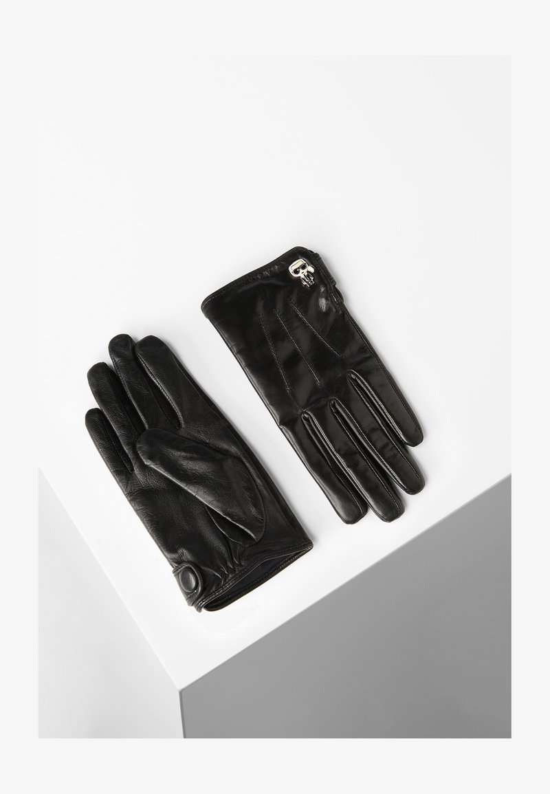 KARL LAGERFELD - Gloves - black