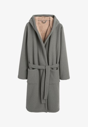 BORG LINED  - Dressing gown - grey