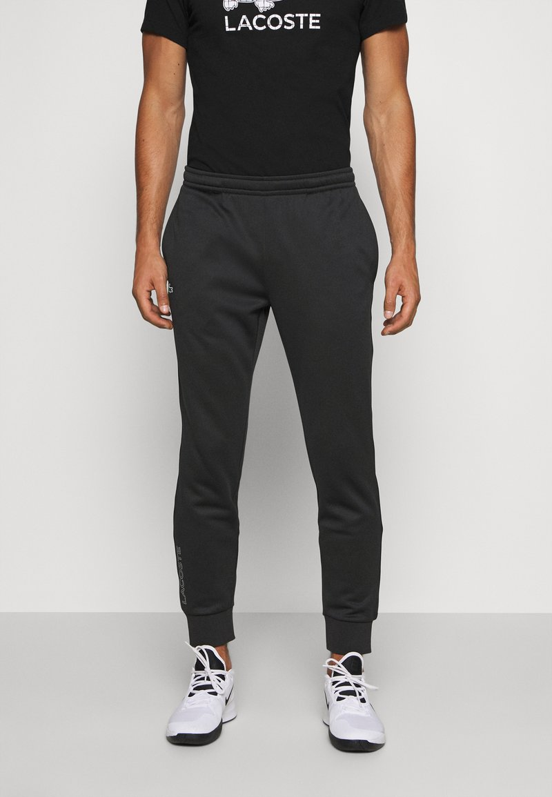 Lacoste Sport - TENNIS PANT - Tracksuit bottoms - black