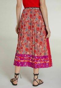 Oui - A-line skirt - red violett - 2