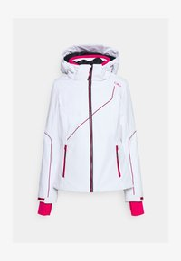 CMP - WOMAN JACKET ZIP HOOD - Ski jacket - bianco - 5