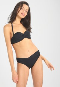 s.Oliver - PUSH UPS BANDEAU - Bikini top - schwarz - 1