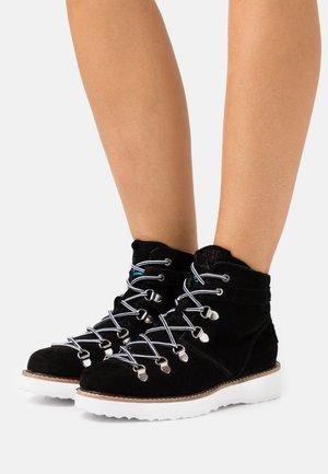 SPENCIR - Šněrovací kotníkové boty - black