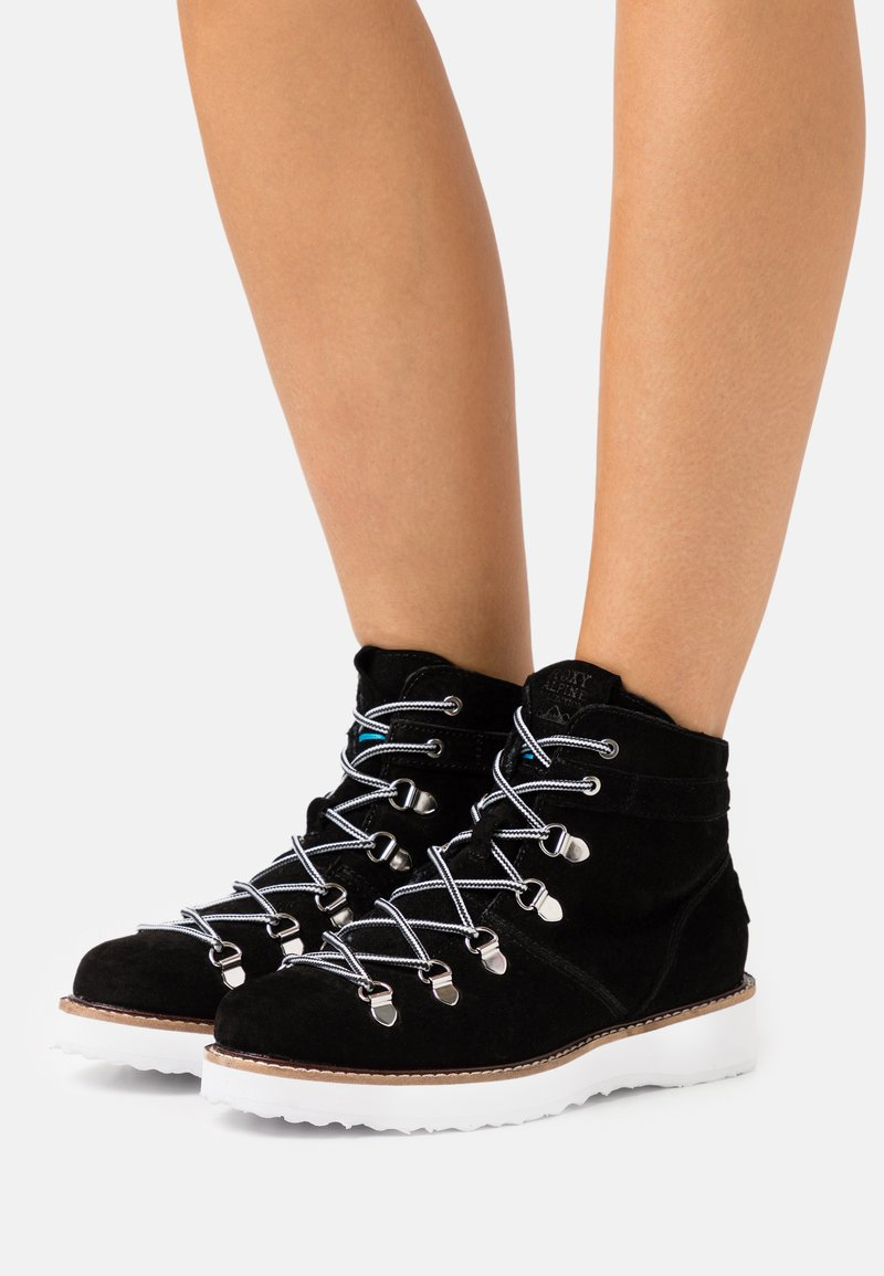 Roxy - SPENCIR - Snørestøvletter - black