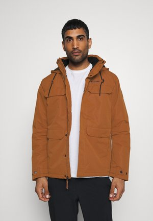 SOUTH CANYON LINED JACKET - Outdoorová bunda - dark amber