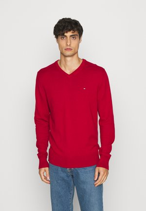 Strickpullover - arizona red heather