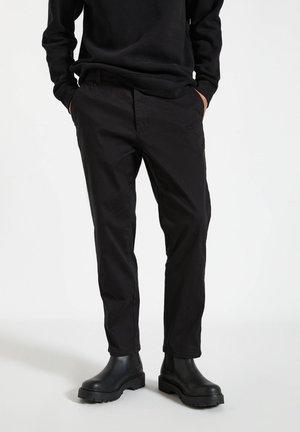Chinos - mottled black
