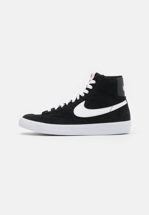 BLAZER MID '77 UNISEX - Sneakersy wysokie - black/white/total orange