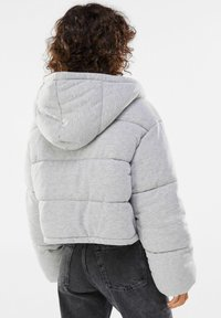 Bershka - Winter jacket - light grey - 2
