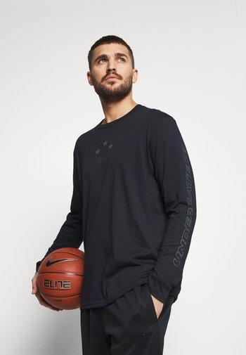 CURRY TEE - Langærmede T-shirts - black
