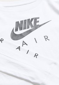 Nike Sportswear - TEE AIR CROP - Camiseta de manga larga - white - 3