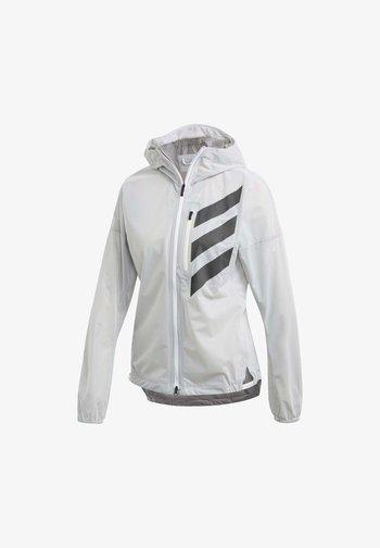 AGRAVIC RAIN.RDY TRAIL RUNNING - Sports jacket - white