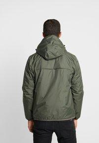 K-Way - LEON PADDED - Light jacket - black torba - 2
