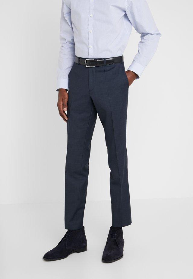 HESTEN - Pantalon de costume - dark blue
