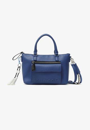 HALF LOGO - Handbag - blau