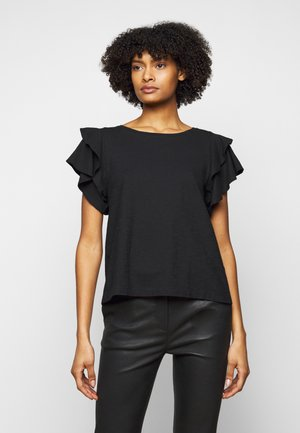 JISANE - T-shirt imprimé - black