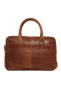 Gusti Leder - Briefcase - honey brown - 1