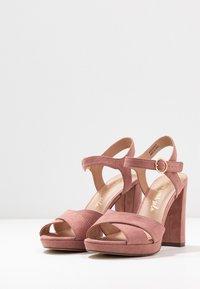 New Look - SANDIEGO - Korolliset sandaalit - light pink - 4