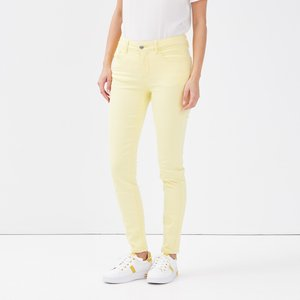 Jeans Skinny Fit - jaune pastel