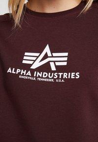 Alpha Industries - NEW BASIC  - Sweatshirt - deep maroon - 5