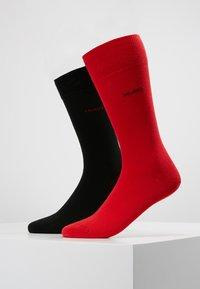 HUGO - 2 PACK - Calcetines - red/black - 0