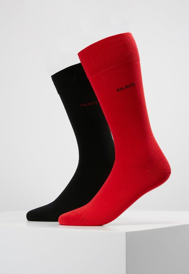 2 PACK - Socks - red/black