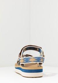 Teva - MIDFORM UNIVERSAL WOMENS - Walking sandals - halcon dark blue - 3