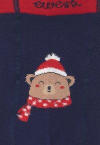 Ewers - THERMO BABY CHRISTMAS BAER UNISEX - Panty - marine - 2