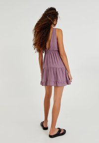 PULL&BEAR - Day dress - mottled purple - 2