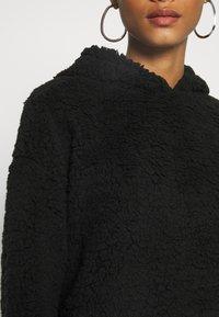 New Look - TEDDY HOODY - Mikina skapucí - black - 5