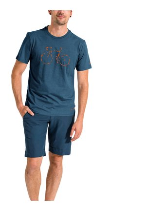 ME CYCLIST  - T-Shirt print - bluegrey