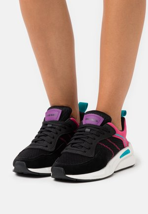 SERENDIPITY S-SERENDIPITY LOW W - Trainers - black/pink