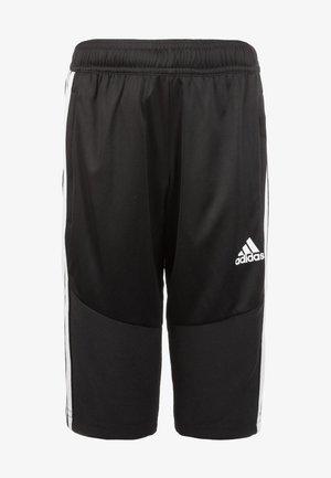 TIRO 19PRIMEGREEN CAPRI 3/4 PANTS - 3/4 sports trousers - black/white