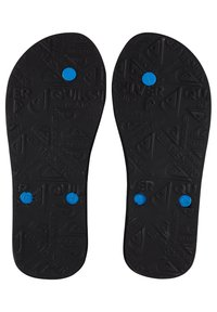 Quiksilver - MOLOKAI WORD BLOCK - Pool shoes - blue/black/blue - 2
