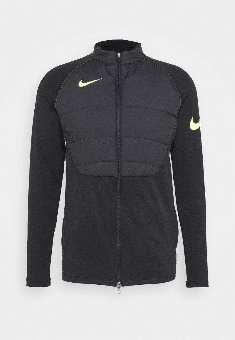 Nike Performance - STRIKE WINTERIZED - Training jacket - black/volt
