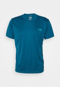The North Face - MEN'S REAXION AMP CREW - Basic T-shirt - moroccan blue - 3