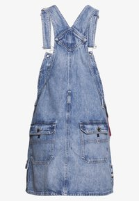 Tommy Jeans - DUNGAREE DRESS - Robe en jean - carol - 1