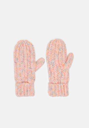 NEON UNISEX - Mittens - bright pink neon
