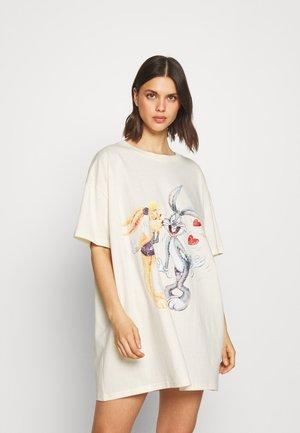90'S TSHIRT NIGHTIE - Camicia da notte - white